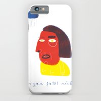 iPhone & iPod Case featuring R E G E N  by Anne Wenkel // Illustration & Fine Art