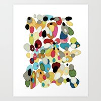 The River Bed Art Print
