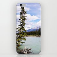 Alberta River Landscape iPhone & iPod Skin