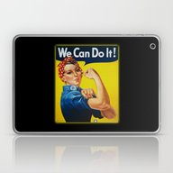 We Can Do It Laptop & iPad Skin