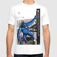 King Kong Mens Fitted Tee White SMALL