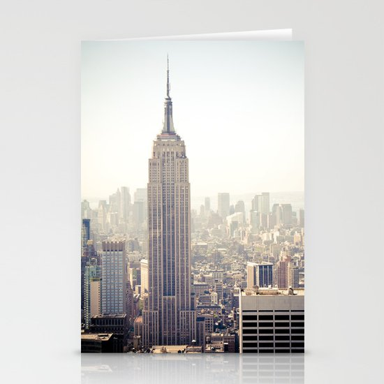 New York City, Empire State Building Stationery Card