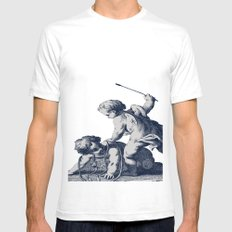 Horseplay Mens Fitted Tee SMALL White