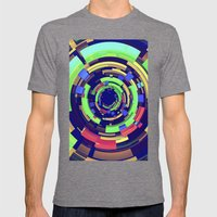 Wistful #1 Mens Fitted Tee Tri-Grey SMALL