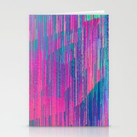 reign of glitch Stationery Cards