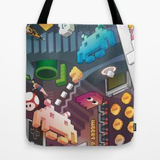 Lost in videogames Tote Bag