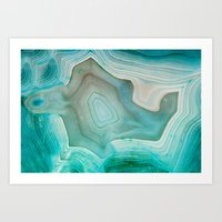 cats Art Prints featuring THE BEAUTY OF MINERALS 2 by Catspaws