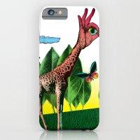 iPhone & iPod Case featuring Girafe by Pierre-Paul Pariseau