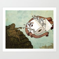 The Sistine Crapel Art Print