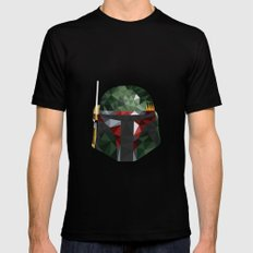 Bobs Black SMALL Mens Fitted Tee