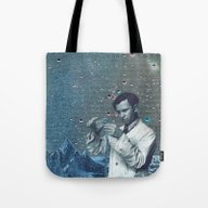 Tote Bag featuring THE ALCHEMIST by Julia Lillard Art