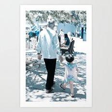Past Art Print