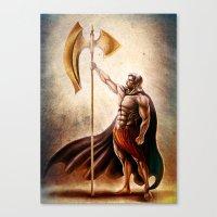 The Giant Killer Canvas Print