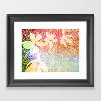 Flowers. Framed Art Print