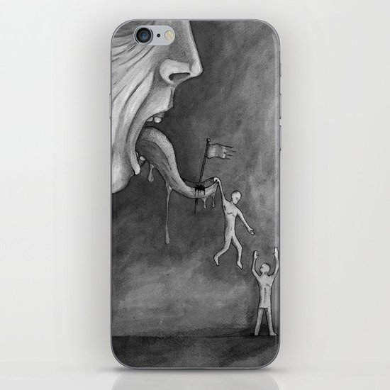 The claim on freedom iPhone & iPod Skin
