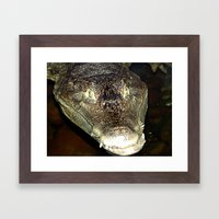 Big and Scary Framed Art Print