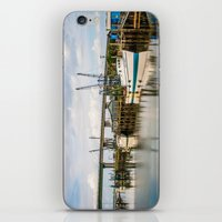 At the Dock iPhone & iPod Skin