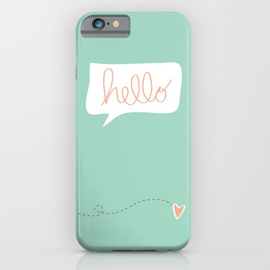 Hello Gorgeous Mint Green iPhone & iPod Case