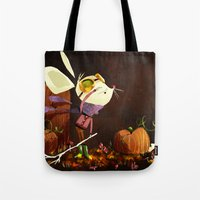 Autumn Mouse Tote Bag