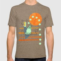 Owl Pellets Mens Fitted Tee Tri-Coffee SMALL
