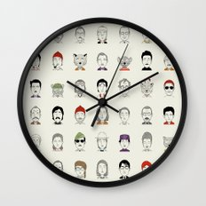 The Characters of W Wall Clock