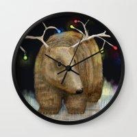 Glow Me The Way : Christ… Wall Clock