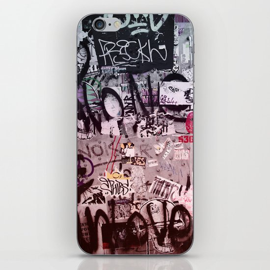 Writing's on the Wall iPhone & iPod Skin