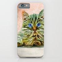 Cat Art Illustration iPhone 6 Slim Case