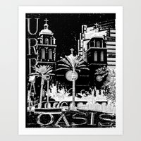 Urban Oasis Art Print