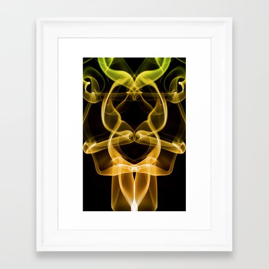 Smoke Photography #9 Framed Art Print