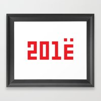 201Ё / New Year 2013 Framed Art Print