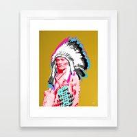Indian Pop 38 Framed Art Print