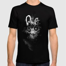 Ghost Black Mens Fitted Tee SMALL