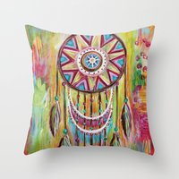 Catching Dreams Throw Pillow