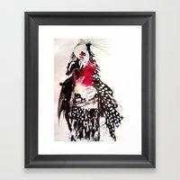 Bald Framed Art Print
