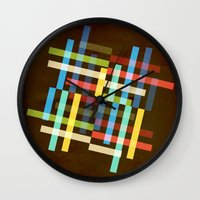 Up and Sideways Wall Clock