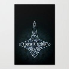 Inception - Top Maze Canvas Print