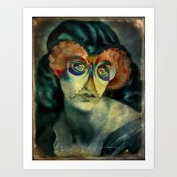 The Girl With The Butter… Art Print