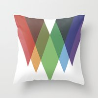 Eingang durch das Dach Throw Pillow