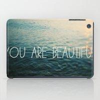 You Are Beautiful iPad Case