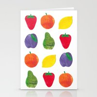 Fruits Stationery Cards