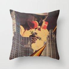 Vaccination Of Metropoli… Throw Pillow