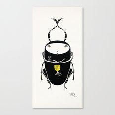 black cricket Canvas Print