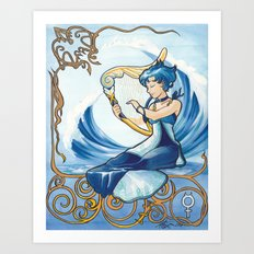 Princess Mercury Art Print
