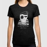 One-Eyed Willy Womens Fitted Tee Tri-Black SMALL