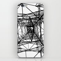 Large Electricity Powerm… iPhone & iPod Skin