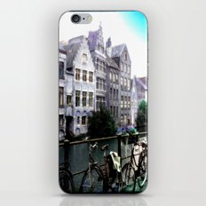 Gent, Belgium Postcard/Print iPhone & iPod Skin