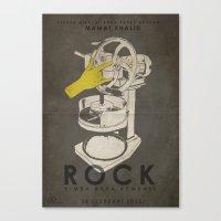 ROCK - Fan Art Film Post… Canvas Print