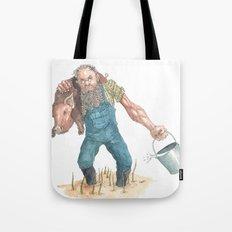 Pig Farmer Tote Bag
