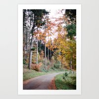 SWISS TRAIL Art Print